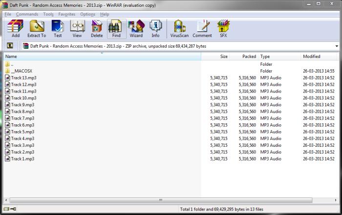 random access memories album download zip